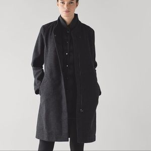 Lululemon all days wool coat (3in1 with down vest)